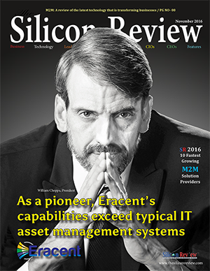 Eracent Featured in Silicon Review magazine - November 2016